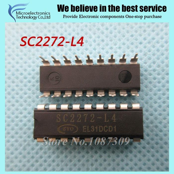 20pcs free shipping SC2272-L4 SC2272 L4 DIP-18 Encoding decoder IC new original(China (Mainland))