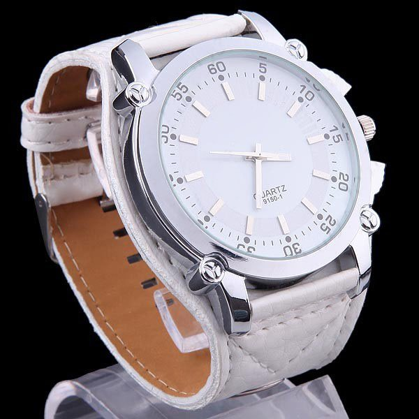 Гаджет  1PCS New Dies Brand Man Men Wrist Watch with Quartz Men Sports Leather Watches With Men Quartz Watch M376W Free shipping None Часы