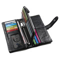 2017 light cultch bag Mens Wallet Genuine Leather With Coin Zipper Men Wallets Brand Famous Large