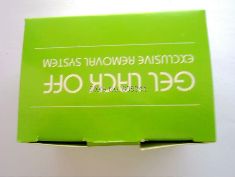 Alumínio papel alumínio com cutton para gel UV wraps remover produto unhas varejos 416