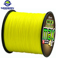 300M MODERN FISHING Brand super strong Japan multifilament PE braided fishing line 4 strands braided wires