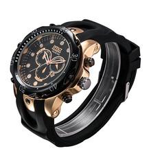 2014 Hot fashion designer men s silicone strap quartz watch classic men s luxury watches top