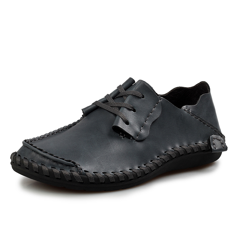 men leather shoes casual 2016 springsummer fashion shoes
