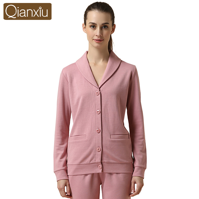 Qianxiu 60%modal24%cotton full sleeve pajamas and home clothОдежда и ак�е��уары<br><br><br>Aliexpress