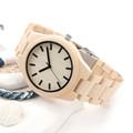 BOBO BIRD Mens Maple Wooden Strap Watches Brand Luxury Fashion Watch Quartz Watch Mens Wood Watch