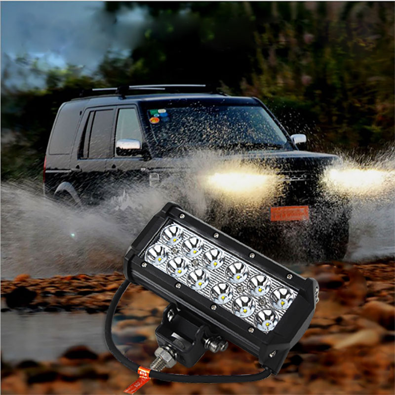 1pcs 7 Inch 36W LED Work Light for Indicators Motorcycle Driving Offroad Boat Car Tractor Truck 4x4 SUV ATV Spot Flood 12V(China (Mainland))