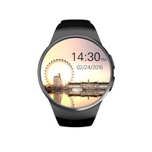 KW18 Smartwatch NFC Heart Rate Monitor Smart Watch For Apple Samsung Android Pedometer health full round MTK2502C(China (Mainland))