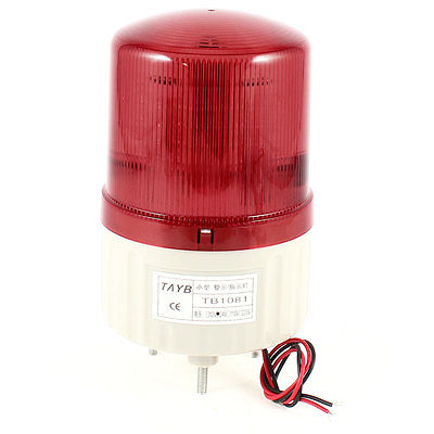 DC 24V 1.8W Red Warning Industrial Signal Flashing Light Lamp Bulbs(China (Mainland))