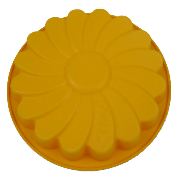 Silicone Cake Mold  Silicon Bakeware  Chrysanthemum Cake Bakingn Pan Muffin Mould Cake Tools Kitchen Acessories(FDKP-2048)