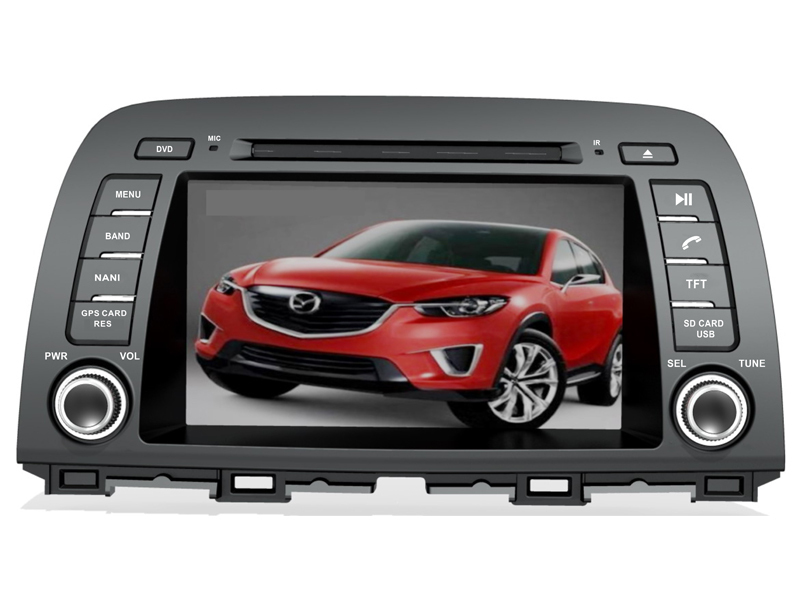 8 inch Android System Special Car DVD Player GPS/Bluetooth Mazda CX-5 2012-/MAZDA 6 Third generation GJ 2012- - Shenzhen TomTop E-commerce Technology Co., Ltd. store
