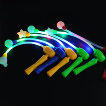 Cheering Electronic Flash Light Led Music glow Stick Wand Emiting Lights Stick for Party Wedding Prom(China (Mainland))