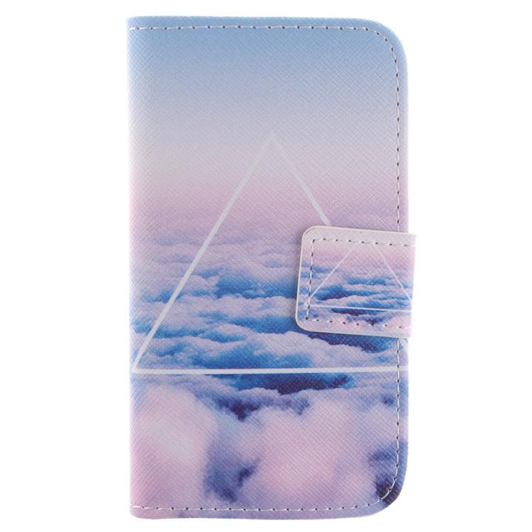 Luxury British style cartoon phone shell Samsung GALAXY S3 Mini I8190 flip wallet book cover mobile case - Fashion pride store