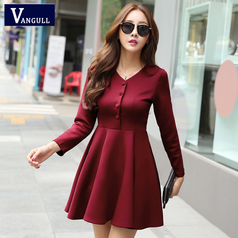 Original  KoreanStylishwomenclothinglongsleeveslimfitwomandress