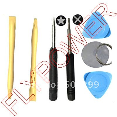 For iphone 4 4g 4s and 5 7 in 1 Opening Tools Set by free DHL, UPS or EMS: 100pcs per lot
