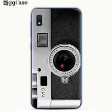 خمر الشريط كاميرا Gameboy رسمت نمط حقيبة لهاتف سامسونج غالاكسي M10 M20 M30 S10 S10e S9 S8 زائد A10 A20 A30 A50 A70 غطاء(China)