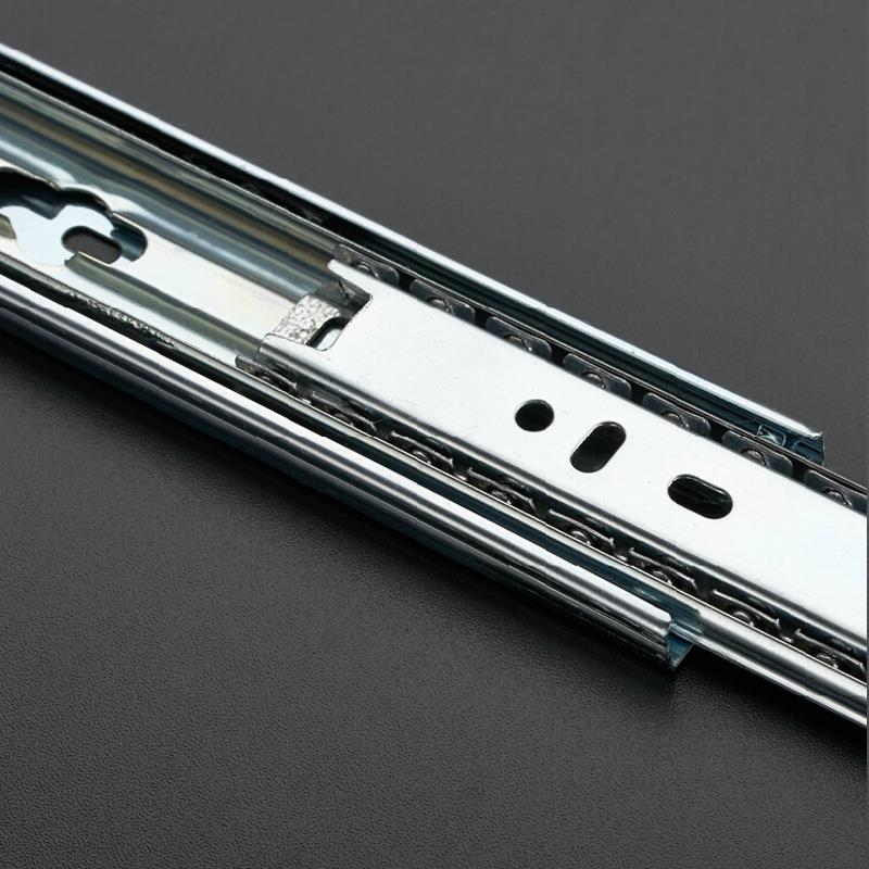 "2Pcs 14"" Thicken 33MM Ball Bearing Full Extension Soft Close Drawer Slides Hardware(China (Mainland))"