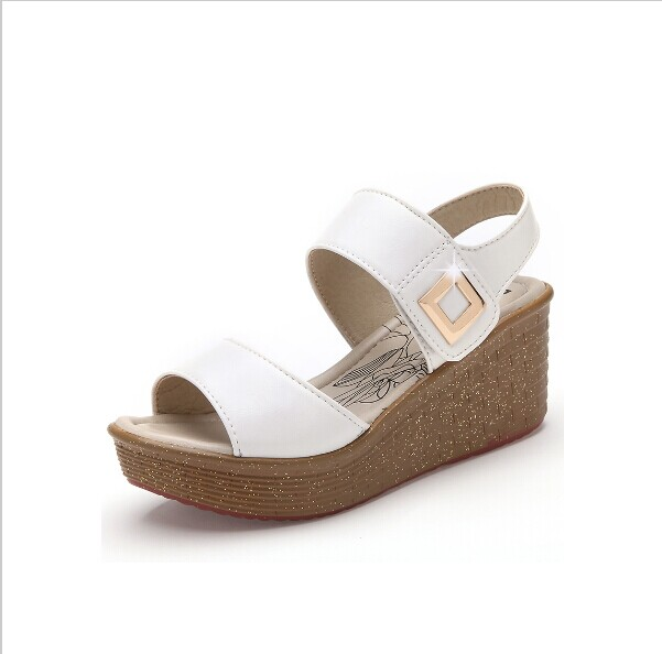 Innovative 2014 New Women Shoes Pumps 2014 Summer T Strap Thick Heel Sexy Fish