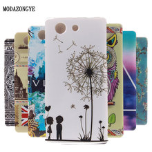 Buy Luxury Cartoon Cell Phone Cover Case Sony Xperia Z3 Compact Z3 Mini D5803 D5833 M55W Case Silicone Soft TPU Back Cover Skin for $1.89 in AliExpress store