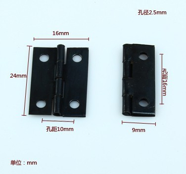 2014 Top Fasion Direct Selling Freeshipping 1 Inch Hinge Small Black Iron Little Gift Box(China (Mainland))