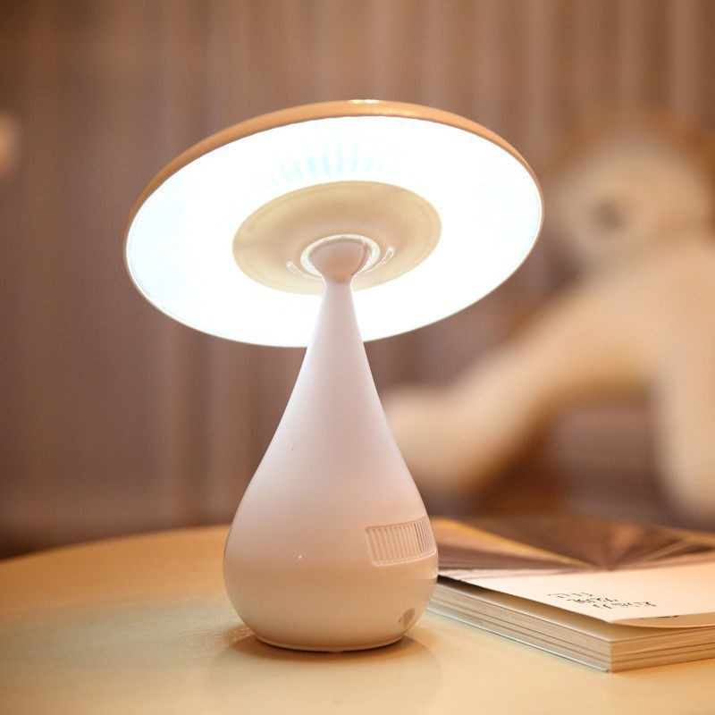 Air Cleaning LED Mushroom Oxygen Bar Air Purifier Lamp,Smoke Cleaner,Rechargeable Touch Control Night Light Desk Lamp<br><br>Aliexpress
