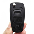 2pcs lot 3Buttons Folding Flip Keyless Entry Remote Key 433MHZ for Ford Focus Mondeo Fiesta Fob