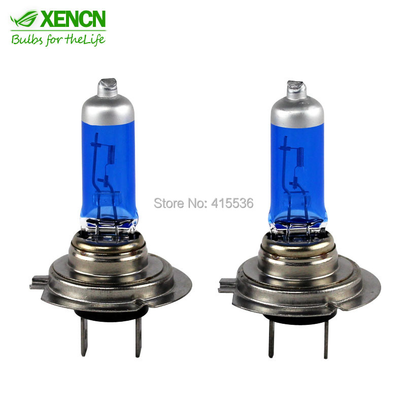 XENCN H7 12V 65W 5300K Xenon Blue Diamond Light Off Road Use focus Car Headlight UV Filter Halogen Super White Head Lamp(China (Mainland))