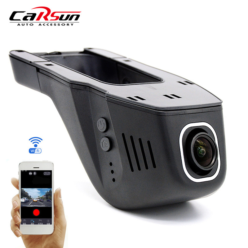 Original Novatek 96658 Car DVR Camera Full HD 1080P + Super Night Vision Hidden Wifi Video Recorder Auto Dash Cam Black Box - Carsun Store store