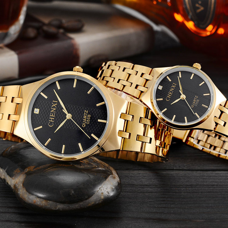 Hot sale fashion men business quartz watch lovers casual stainless steel gold wristwatch women dress watches Relogio Masculino<br><br>Aliexpress