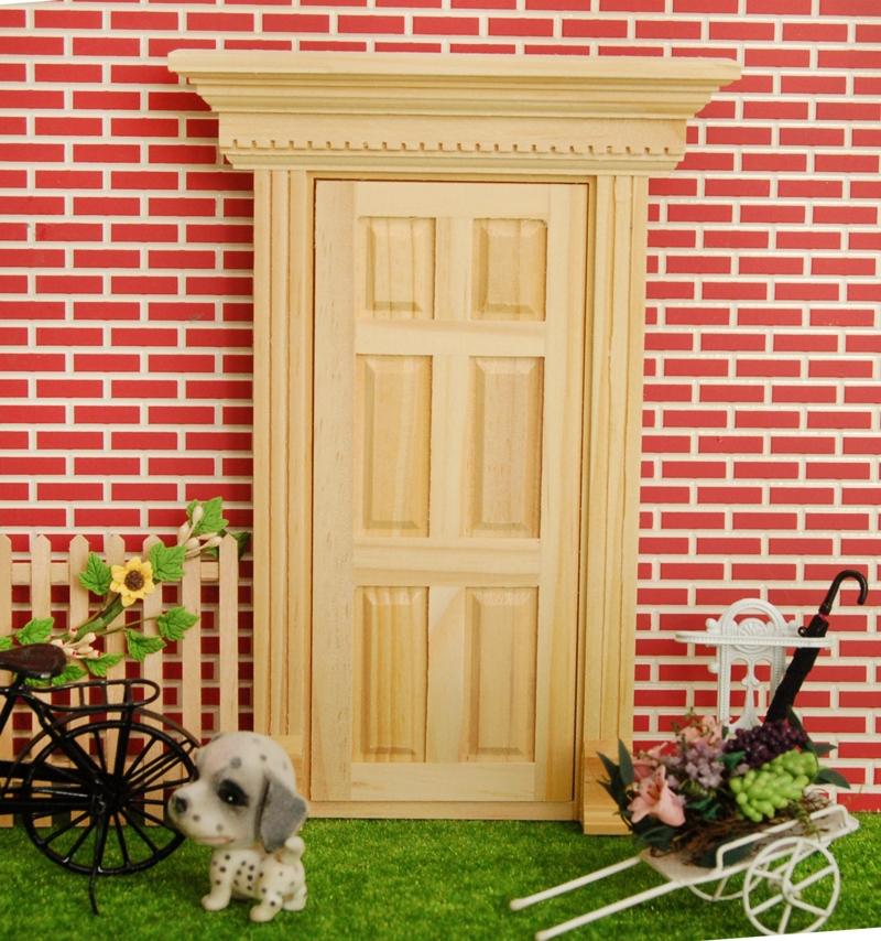 1 12 dollhouse miniatures lovely fairy doors no paint for Fairy front door