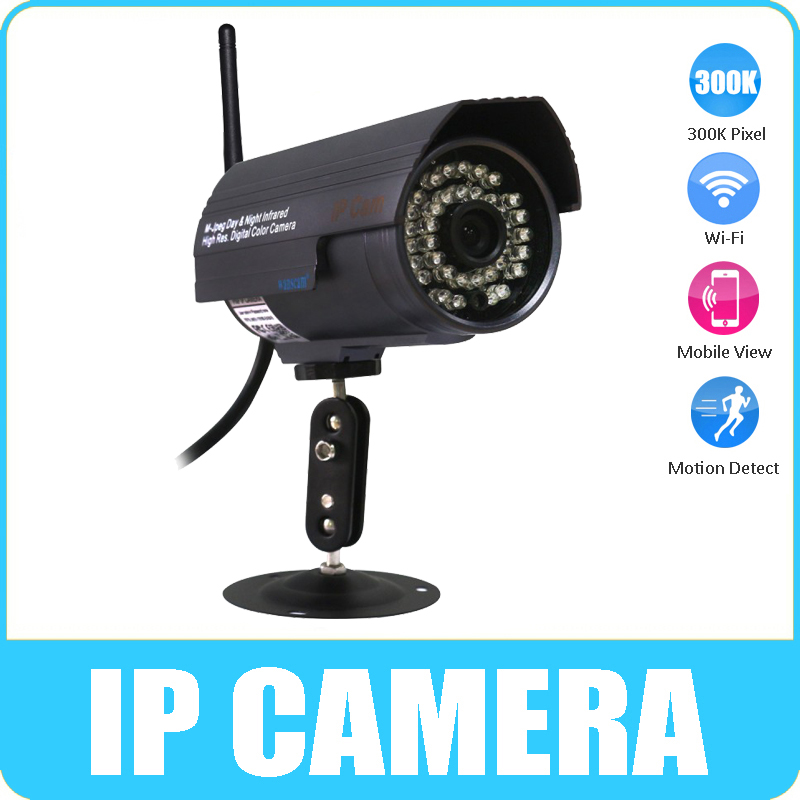 WANSCAM Wireless Wifi Outdoor Waterproof IR Night Vision CCTV Security Surveillance System Internet Network IP Camera Purple(China (Mainland))