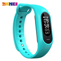 SKMEI Men Blood Pressure Heart Rate Smart Wristband Women Sleep Pedometer Calorie Smart Watch Bluetooth Message