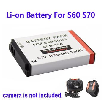 Бесплатная Доставка! 100% Оригинал 1050 мАч Резервное Копирование Аккумуляторная Батарея льва Для SOOCOO S60 S70 Камера Спорта DV