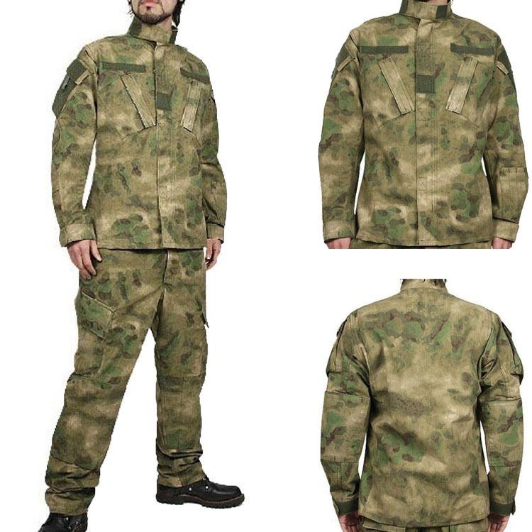 Army Combat BDU Uniform Outdoor Wargame Tactical Suits German Desert Camo Color