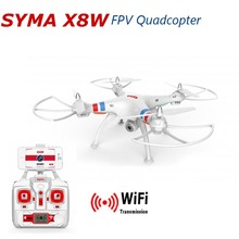 White Syma X8W Explorers RC QUADCOPTER Professional Drone Wifi FPV 2.4G 6 Axis 4CH 2.0MP Camera RTF Toy Gift