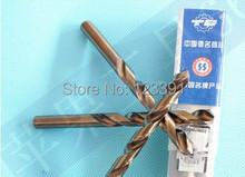 10 unids/set 2.0 mm CNC completo molido HSS M35 Co5 % de la torcedura pedacitos de taladro de perforación de Metal mango cilíndrico por SS / acero / acero fundido hierro alum