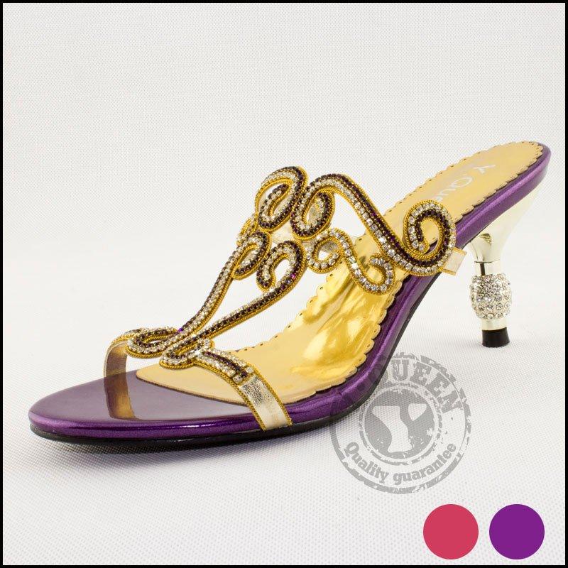 Toe Top Medium(b,m) Open Sandalias Femininas 2015 [y.queen] New Sandals High Heel Shoes, Diamond Women Shoes - suiwen liu's store