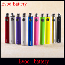5pcs EVOD Rechargeable650mah 900mah 1100mah E-cigarette Battery EVOD Battery Ego  For Electronic Cigarette Fit Evod MT3 CE4