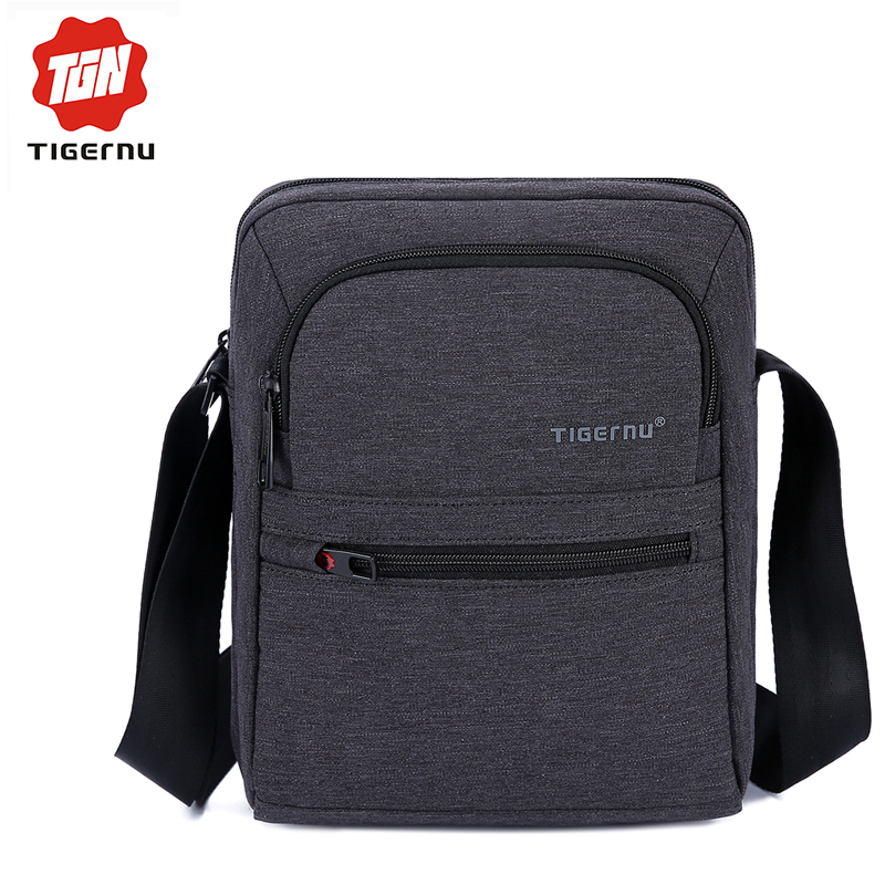 2016 Tigernu Brand New Arrival High Quality Men 's Messager Bag Business Shoulder Bags Casual Travel Bag(China (Mainland))