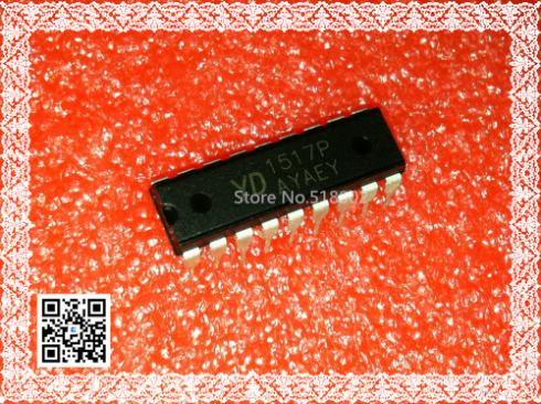 YD1517P two-channel audio amplifier IC audio circuit(China (Mainland))