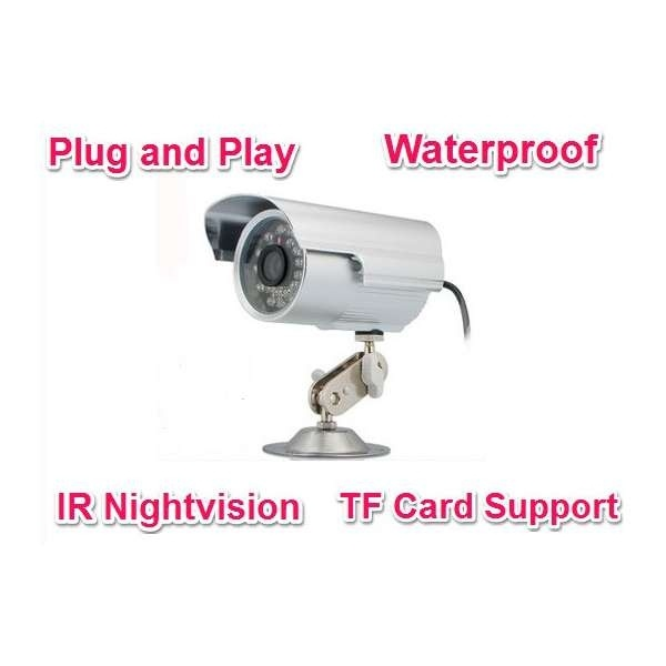 32GB Card+No Need Layout Waterproof Outdoor Security Camera With Repeated TF Card Recording<br><br>Aliexpress