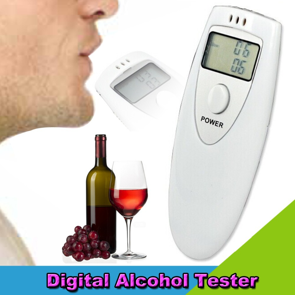 2015 Breath Tester Analyzer Pocket Digital Alcohol Breathalyzer Detector Test Testing(China (Mainland))