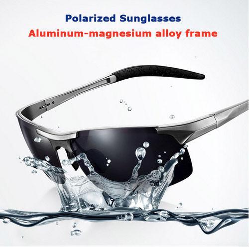 Best 2014 New Designer Brand polarized men's fashion sunglasses aluminum magnesium frame driving sunglasses oculos gafas de sol(China (Mainland))