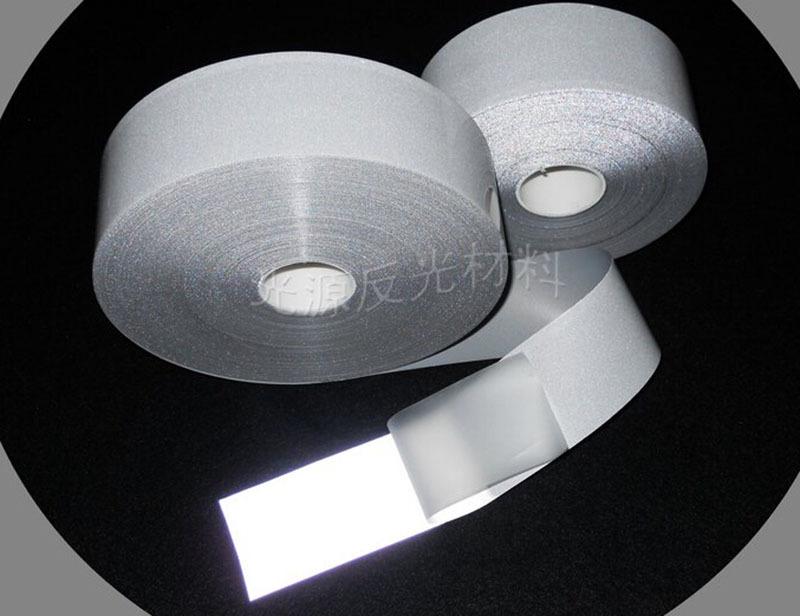 2.5 см * 5 м яркий серебряный надписи мембрана горячая фильм отражающей пояса лента трафика предупреждение блестняна гладильная ткань # A216