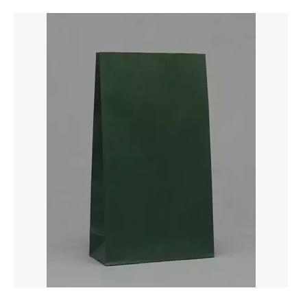 23x12x7.5cm 50pcs/lot Green Kraft Paper Bags Recyclable Gift Jewelry Food Candy Packaging Shopping Bags For Boutique(China (Mainland))