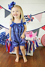 Wholesale-3pcs/lot 2015 baby clothes posh petti star baby bodysuits infant bodysuit princess lace one-piece coverall blue(China (Mainland))