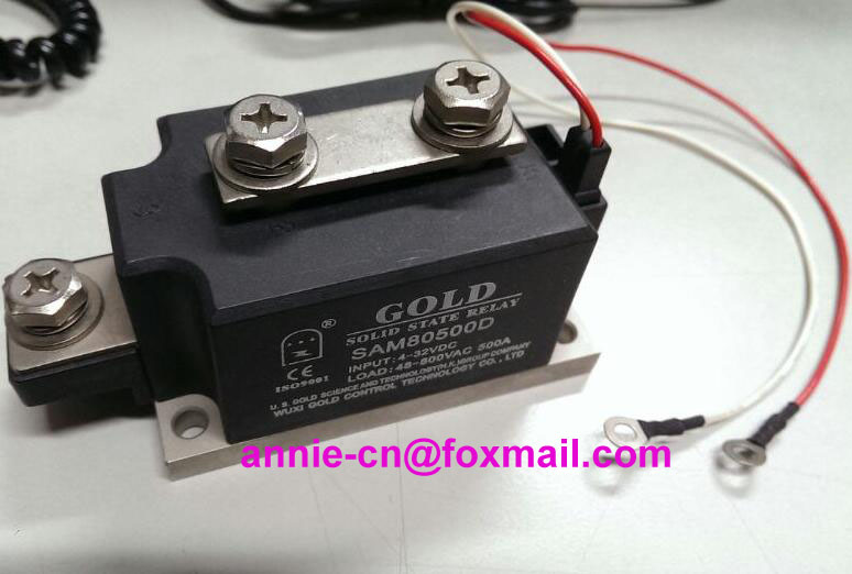 New and original SAM80500D GOLD High Power Single phase Solid state relay  SSR RELAY  500A 800VAC<br><br>Aliexpress