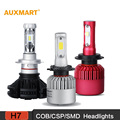 Auxmart H7 COB CSP SMD LED Car Headlight Bulbs 6500K 8000LM Driving Headlight All In One