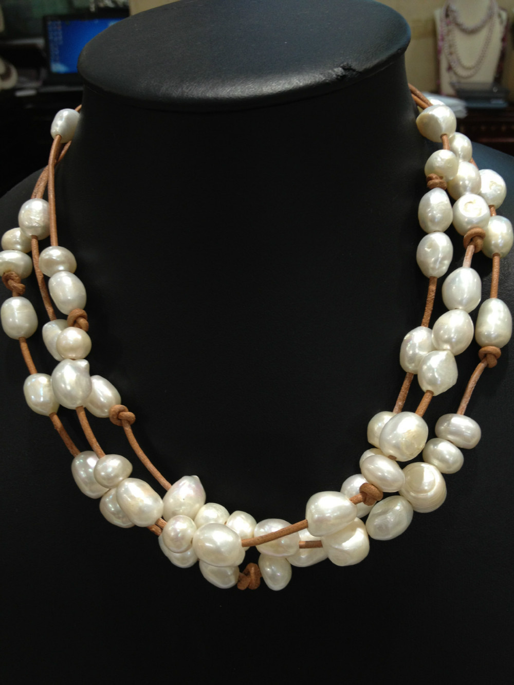 Aliexpress.com : Buy Baroque Freshwater Pearls Necklace ...