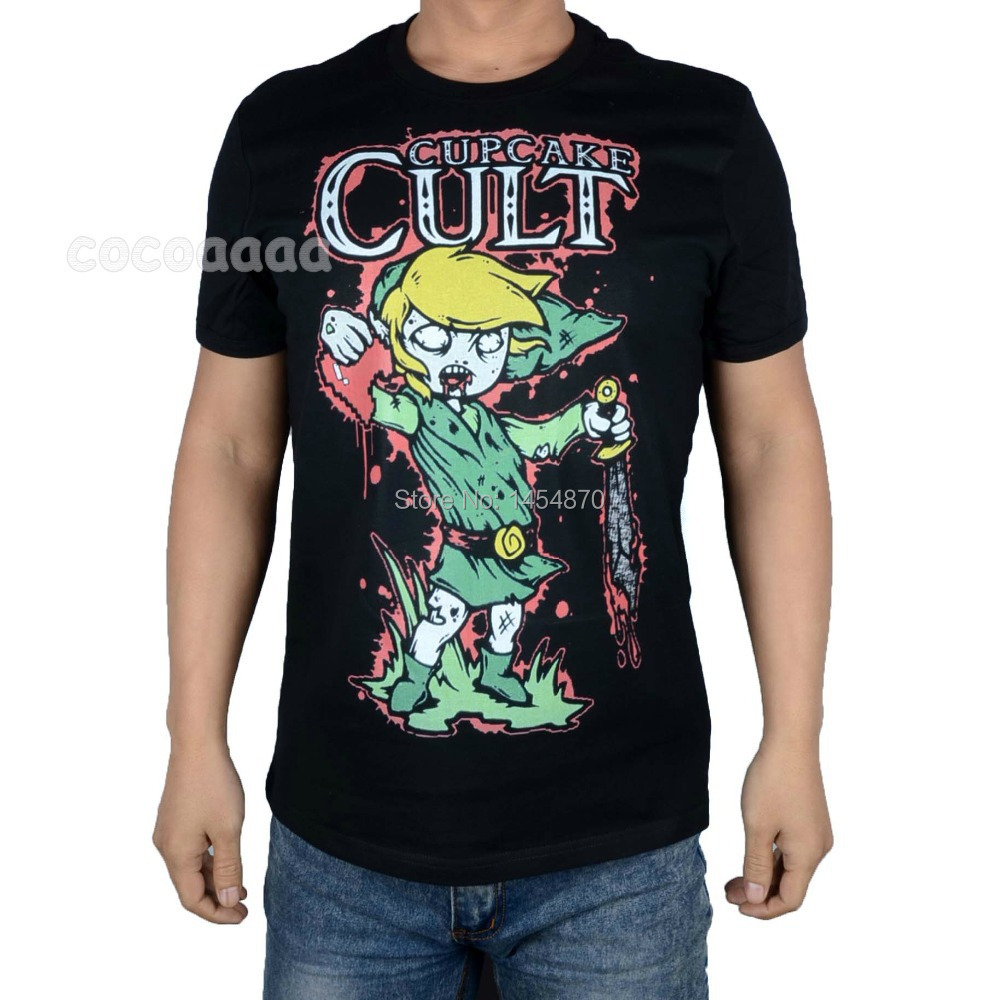 Cupcake cult rock brand shirt 3d high quality manga mma for Thick t shirts brands