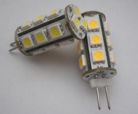 led G4 light bulb,2.5W;18pcs 5050 SMD LED;DC12V input